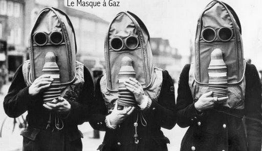 """Внимание , газы ! (часть-2) От """"чумной маски"""" до Микки-Мауса :) (Фото 66)"""