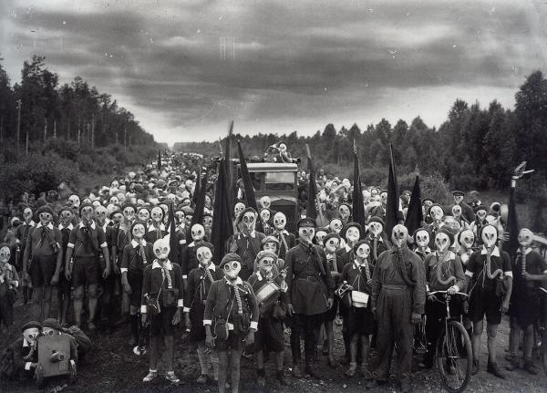 """Внимание , газы ! (часть-2) От """"чумной маски"""" до Микки-Мауса :) (Фото 67)"""