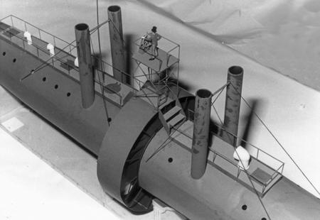 """Прототип """"Наутилуса"""" , или """"сигар-шип"""" от Уайненс-ов. (Фото 9)"""