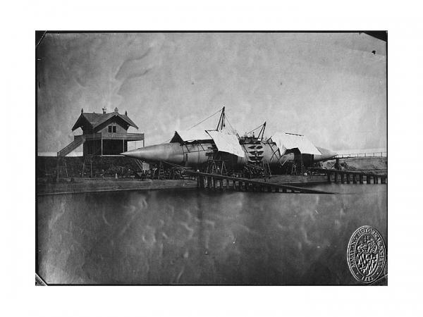 """Прототип """"Наутилуса"""" , или """"сигар-шип"""" от Уайненс-ов. (Фото 17)"""