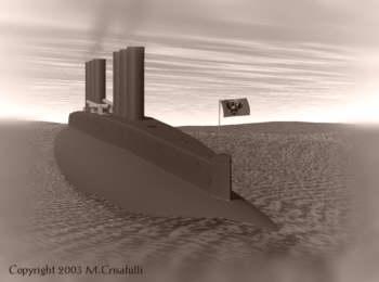 """Прототип """"Наутилуса"""" , или """"сигар-шип"""" от Уайненс-ов. (Фото 31)"""