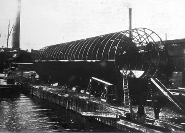 """Frederick Augustus Knapp's """"roller boat"""" . Или к чему приводит обожание королевы Виктории. (Фото 2)"""