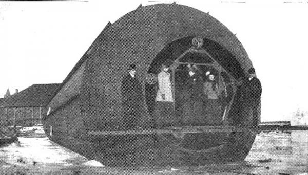 """Frederick Augustus Knapp's """"roller boat"""" . Или к чему приводит обожание королевы Виктории. (Фото 8)"""