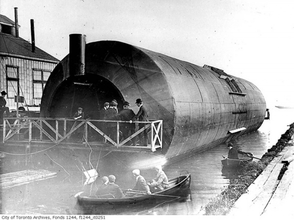 """Frederick Augustus Knapp's """"roller boat"""" . Или к чему приводит обожание королевы Виктории. (Фото 3)"""