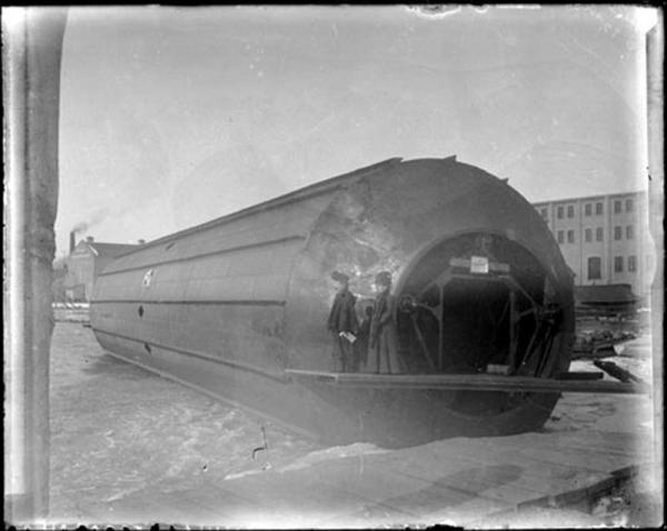 """Frederick Augustus Knapp's """"roller boat"""" . Или к чему приводит обожание королевы Виктории. (Фото 7)"""