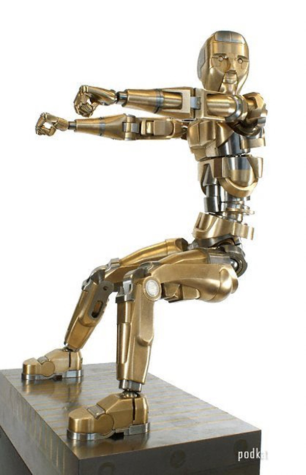 как сделать робота чтобы он двигалс¤