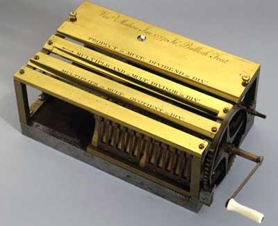 Калькулятор Johann Helfrich Müller. Шаг к механическому компьютеру. (Фото 33)