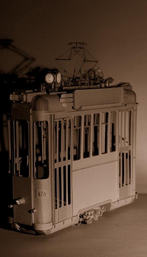 Daniel Agdag - поэзия бумаги, скульптура из картона. Или кто сказал, что замки должны быть воздушными? (Фото 19)