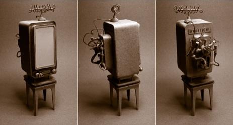 Daniel Agdag - поэзия бумаги, скульптура из картона. Или кто сказал, что замки должны быть воздушными? (Фото 12)
