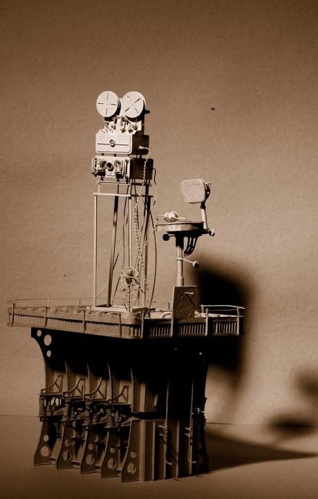 Daniel Agdag - поэзия бумаги, скульптура из картона. Или кто сказал, что замки должны быть воздушными? (Фото 20)
