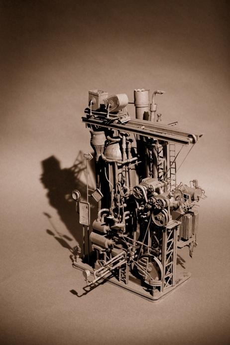 Daniel Agdag - поэзия бумаги, скульптура из картона. Или кто сказал, что замки должны быть воздушными? (Фото 21)