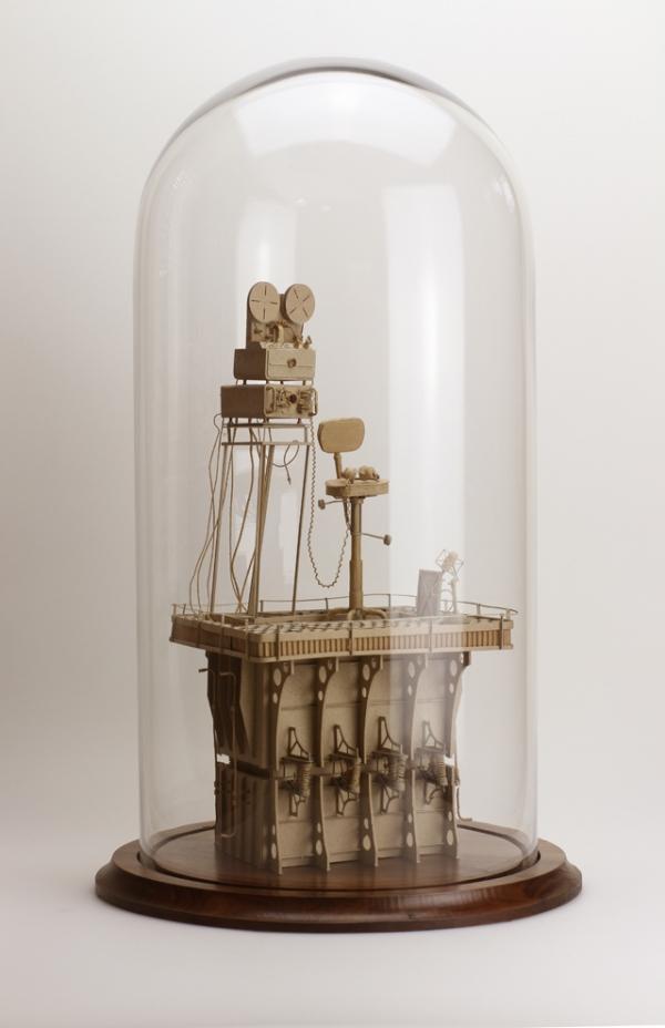 Daniel Agdag - поэзия бумаги, скульптура из картона. Или кто сказал, что замки должны быть воздушными? (Фото 24)