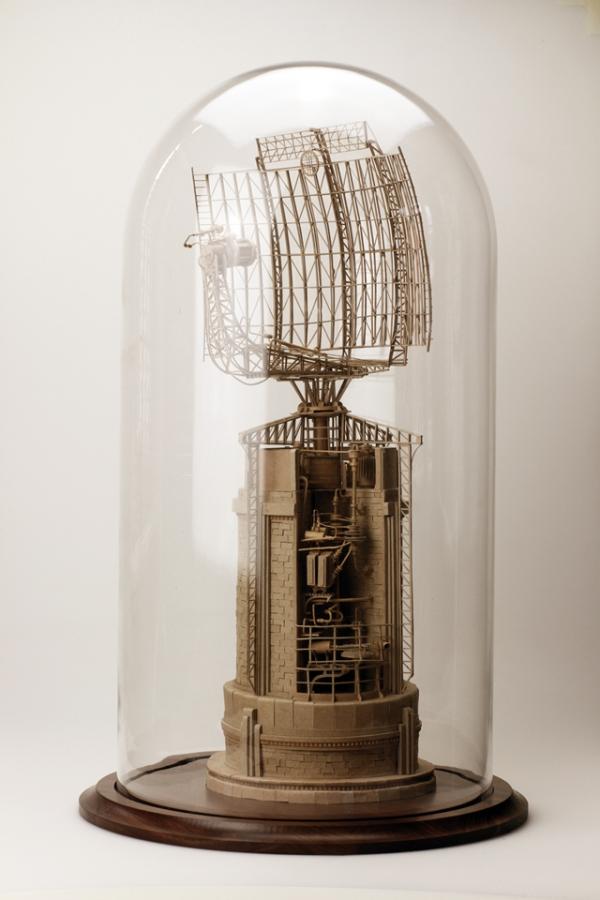 Daniel Agdag - поэзия бумаги, скульптура из картона. Или кто сказал, что замки должны быть воздушными? (Фото 22)