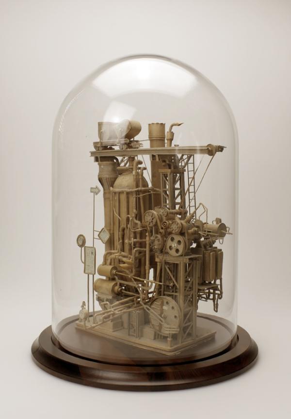 Daniel Agdag - поэзия бумаги, скульптура из картона. Или кто сказал, что замки должны быть воздушными? (Фото 23)