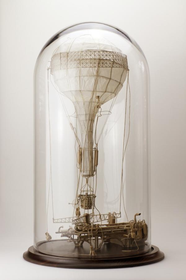 Daniel Agdag - поэзия бумаги, скульптура из картона. Или кто сказал, что замки должны быть воздушными? (Фото 25)