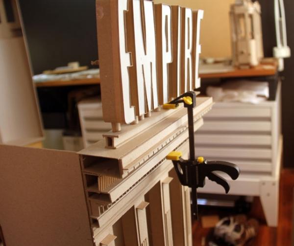 Daniel Agdag - поэзия бумаги, скульптура из картона. Или кто сказал, что замки должны быть воздушными? (Фото 3)
