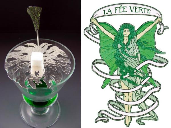 Зелёная фея абсента, ядовитая муза богемы. (Фото 14)