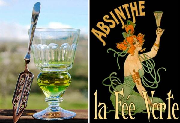 Зелёная фея абсента, ядовитая муза богемы. (Фото 4)