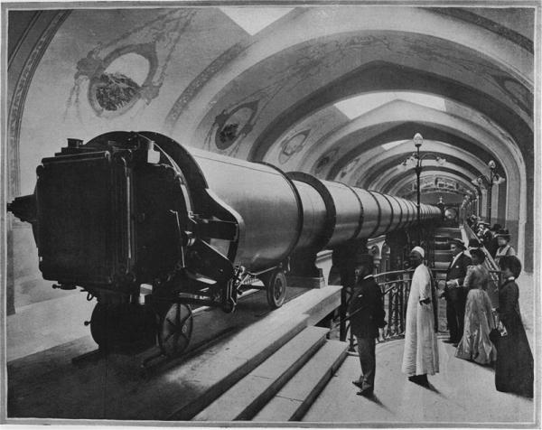 Телескоп с Парижской выставки 1900 года. (Фото 2)