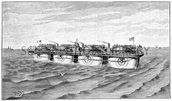Корабль Эрнеста Базина. (Фото 11)