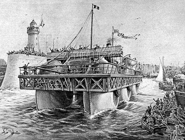 Корабль Эрнеста Базина. (Фото 9)