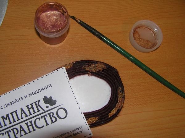 Скрепочница и кнопочница (стимпанк пространство) (Фото 14)