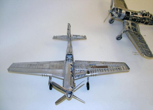 Young C.Park. Модели самолетов времен Второй мировой Войны. (Фото 25)