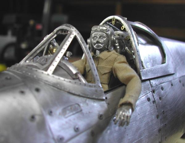 Young C.Park. Модели самолетов времен Второй мировой Войны. (Фото 14)