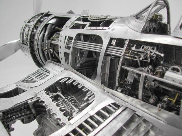 Young C.Park. Модели самолетов времен Второй мировой Войны. (Фото 15)