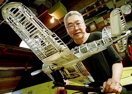 Young C.Park. Модели самолетов времен Второй мировой Войны.