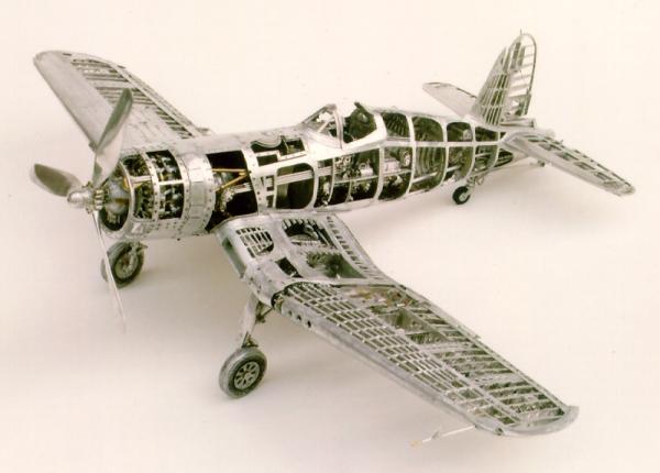 Young C.Park. Модели самолетов времен Второй мировой Войны. (Фото 5)