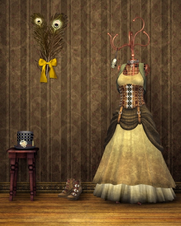Steampunk Backgrounds (Фото 3)