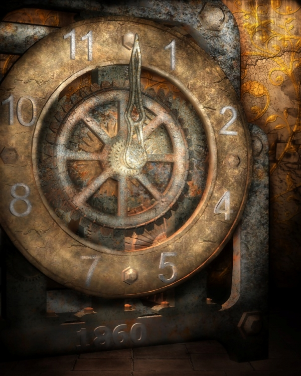 Steampunk Backgrounds (Фото 2)