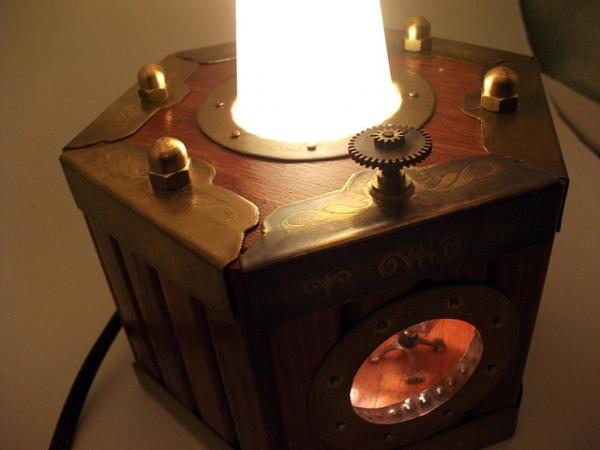 Волшебный стимпанк маяк