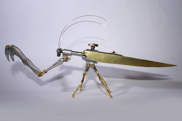 Стимпанк-насекомые