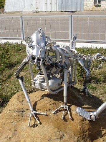 Статуи из металлома-ЗАТО Светлый (Фото 5)