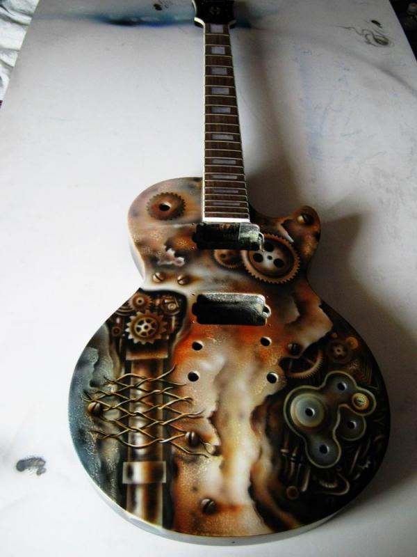 "Гитара ""Steampunk"" (Фото 2)"