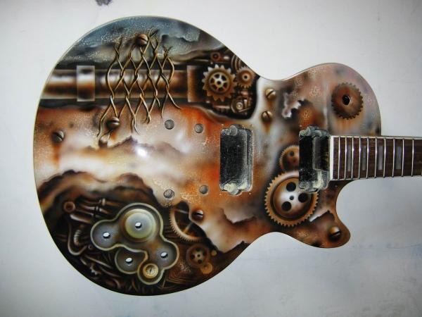 "Гитара ""Steampunk"""