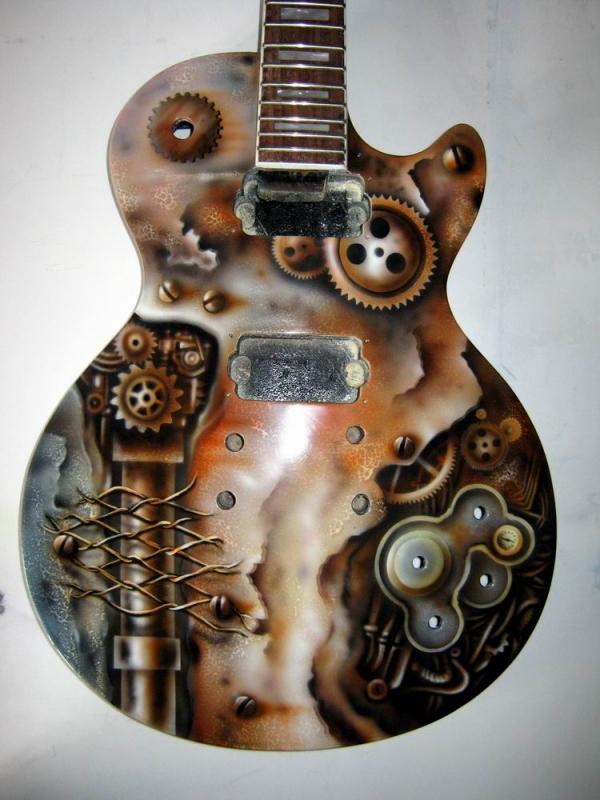 "Гитара ""Steampunk"" (Фото 11)"