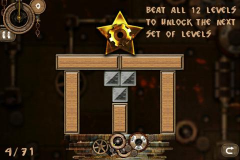 Игра для Android в стилизации Steam