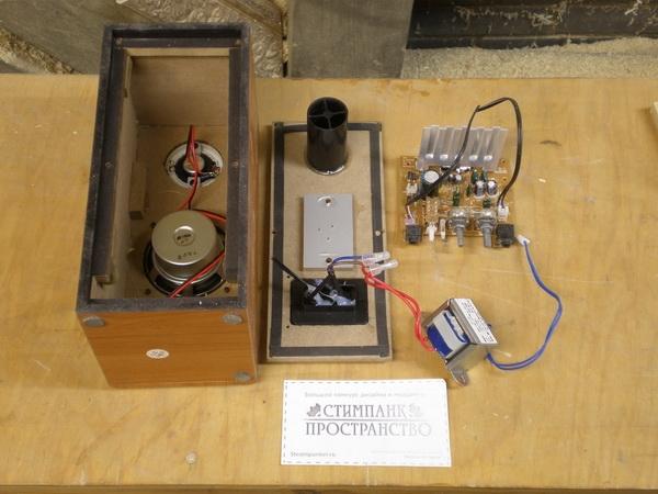 Паро-электрическая музыкальная машина (Фото 31)