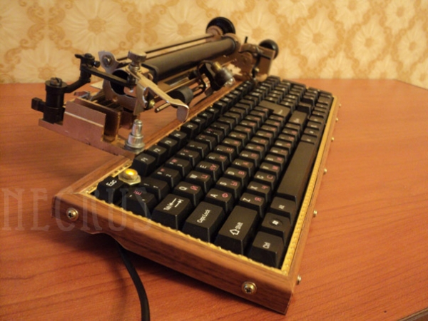 Стимпанк-клавиатура (by NecruS)