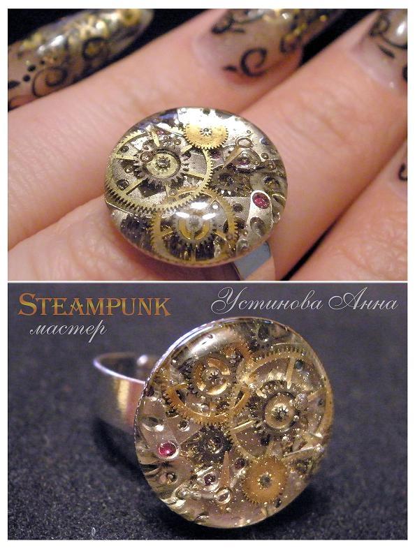 Моё время, мой ручной  -Steampunk- (прозрачное и механическое,( много фото и мало текста :) (Фото 6)