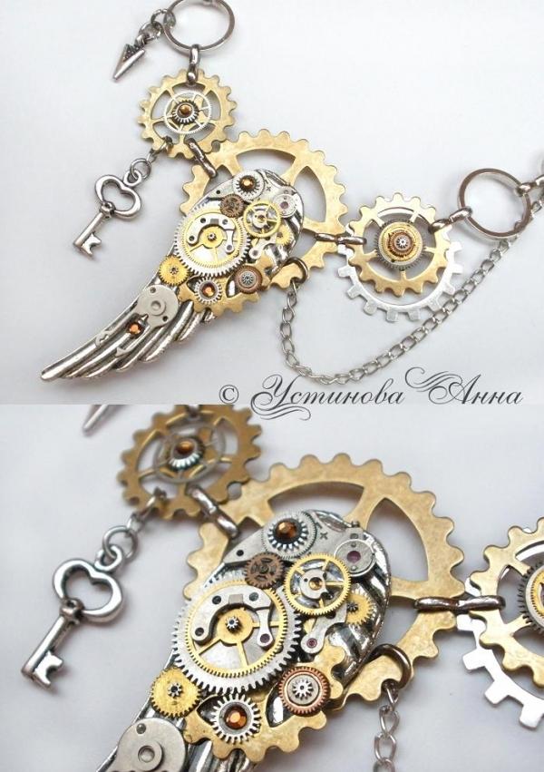 -Steampunk- Украшения ручной работы от мастера Устиновой Анны (продолжение, опять много новых работ:)... (Фото 5)