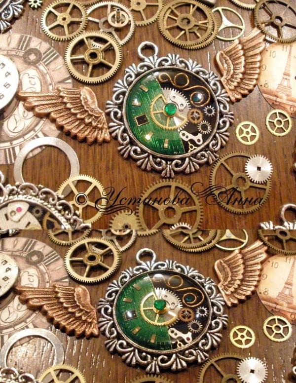 -Steampunk- Украшения ручной работы от мастера Устиновой Анны (продолжение, опять много новых работ:)... (Фото 18)