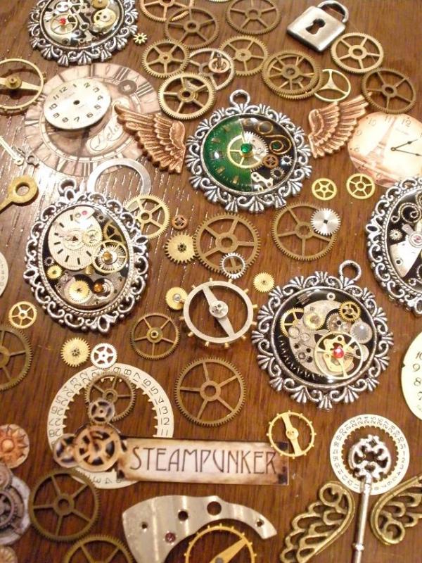 -Steampunk- Украшения ручной работы от мастера Устиновой Анны (продолжение, опять много новых работ:)... (Фото 19)