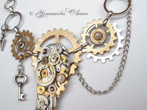 -Steampunk- Украшения ручной работы от мастера Устиновой Анны (продолжение, опять много новых работ:)... (Фото 4)