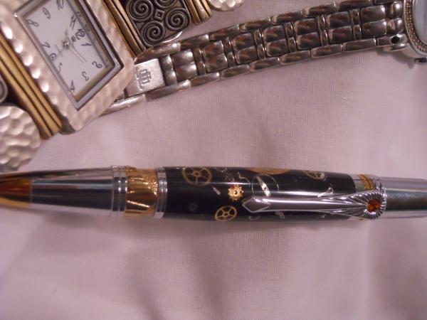 Ручки в стиле -Steampunk- (или: Какой должна быть ручка современного Стимпанкера? Что скажите?:) Добавила ещё фото. (Фото 3)