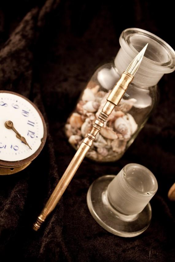 Ручки в стиле -Steampunk- (или: Какой должна быть ручка современного Стимпанкера? Что скажите?:) Добавила ещё фото. (Фото 22)