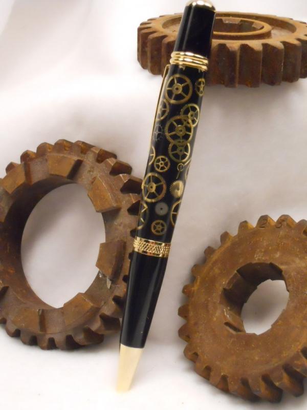Ручки в стиле -Steampunk- (или: Какой должна быть ручка современного Стимпанкера? Что скажите?:) Добавила ещё фото.